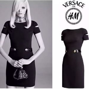Versace for H&M Dresses - RARE!! Versace for H&M Silk Dress, 6